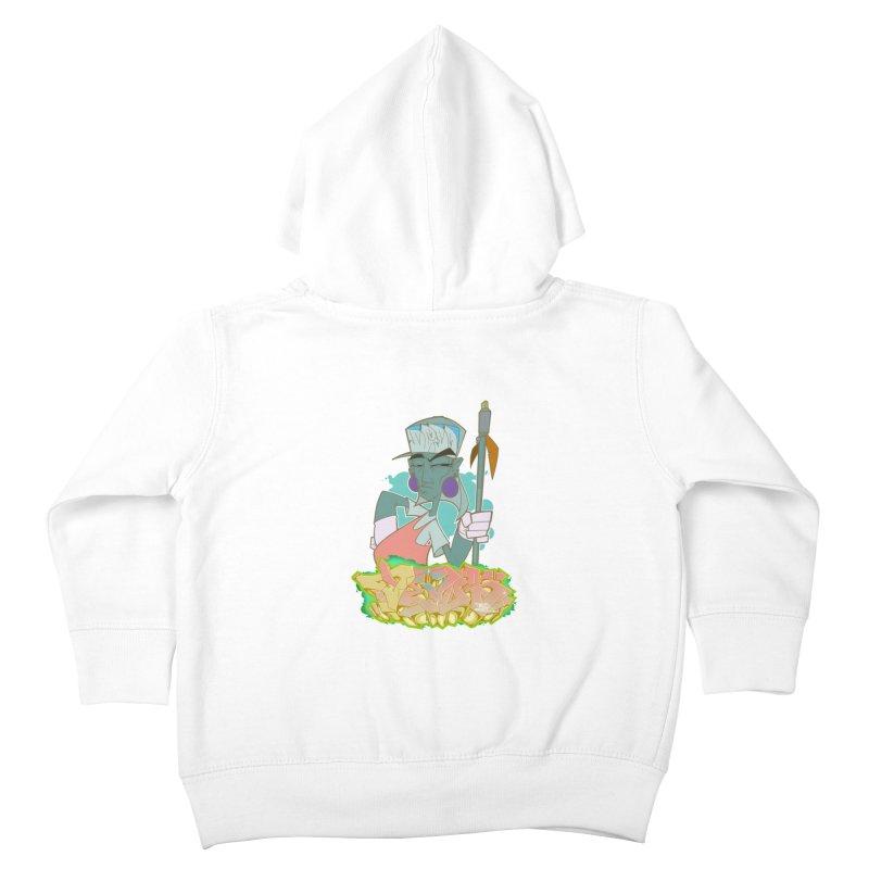 Bboy Azteca Kids Toddler Zip-Up Hoody by Dedos tees