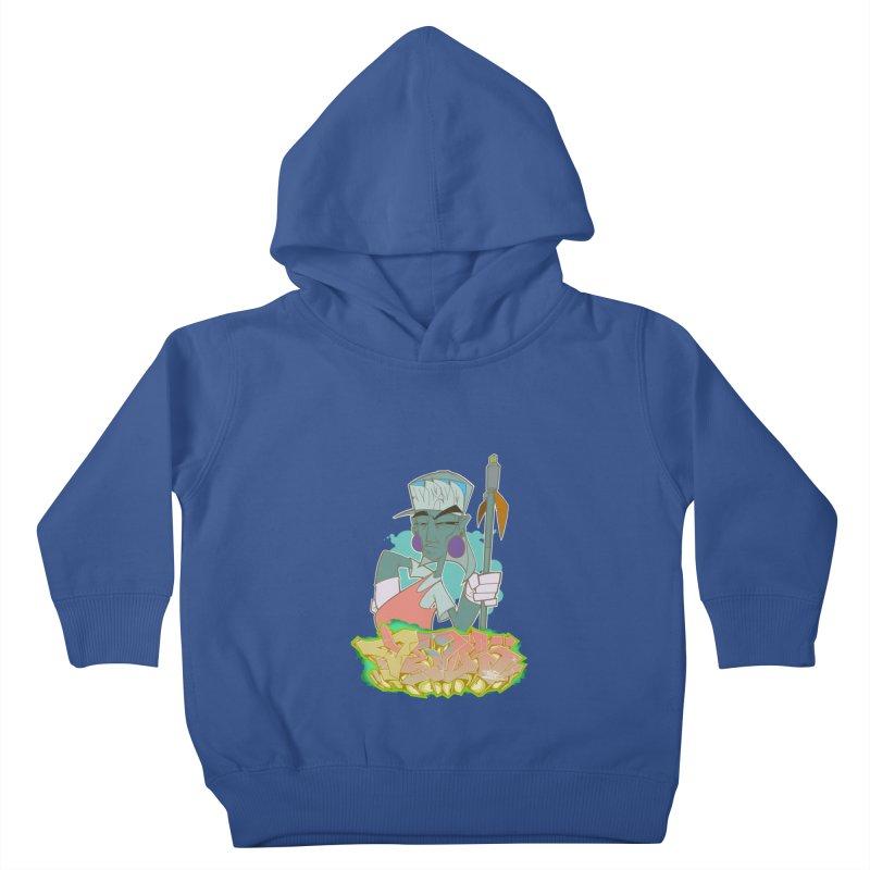 Bboy Azteca Kids Toddler Pullover Hoody by Dedos tees