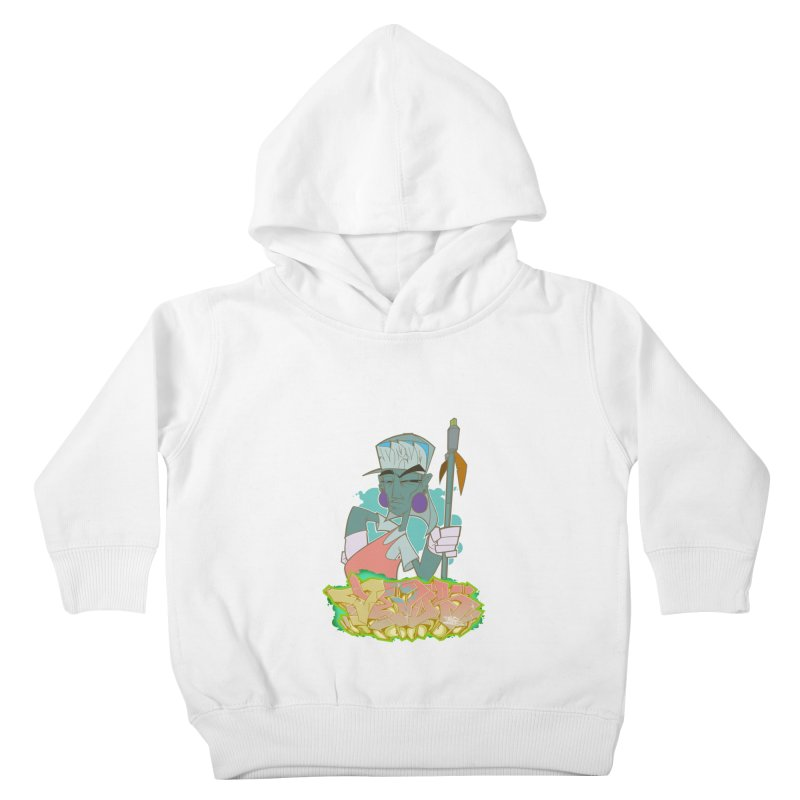 Bboy Azteca Kids Toddler Pullover Hoody by Dedos tees