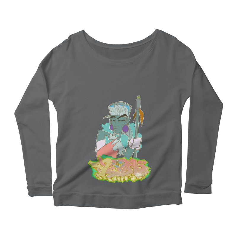 Bboy Azteca Women's Longsleeve T-Shirt by Dedos tees