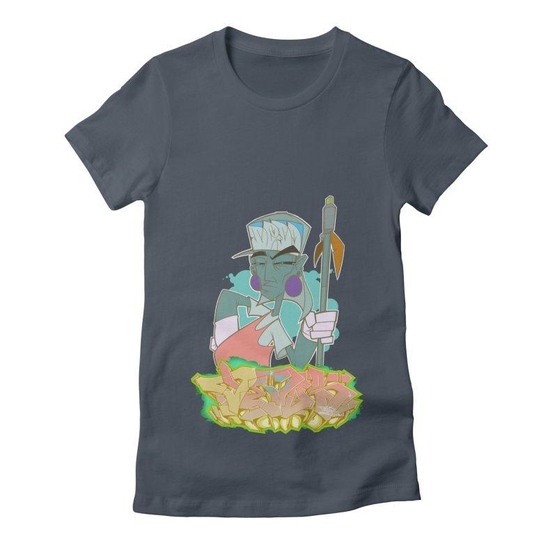 Bboy Azteca Women's T-Shirt by Dedos tees