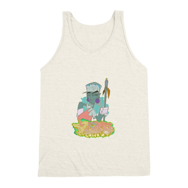 Bboy Azteca Men's Triblend Tank by Dedos tees