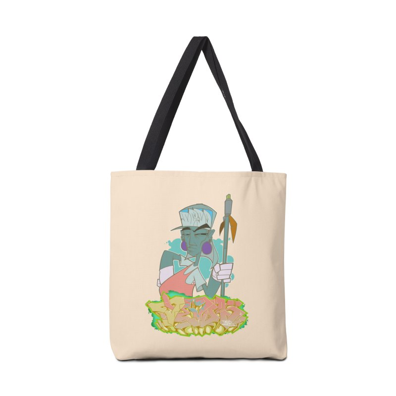 Bboy Azteca Accessories Tote Bag Bag by Dedos tees