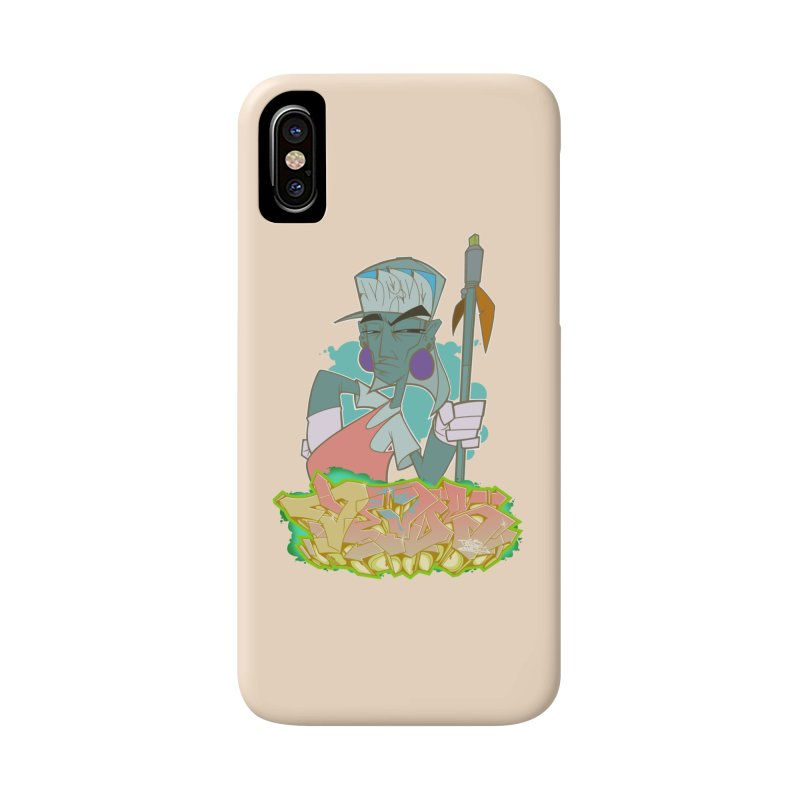 Bboy Azteca Accessories Phone Case by Dedos tees
