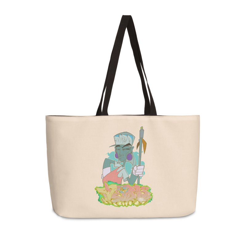 Bboy Azteca Accessories Weekender Bag Bag by Dedos tees
