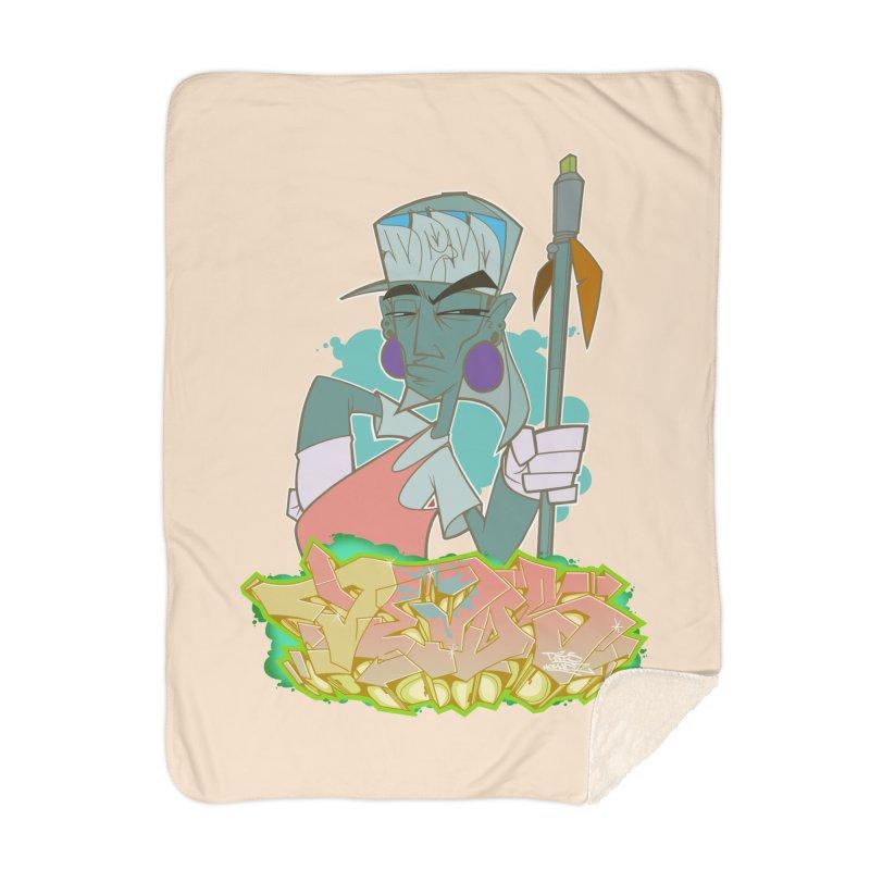 Bboy Azteca Home Blanket by Dedos tees