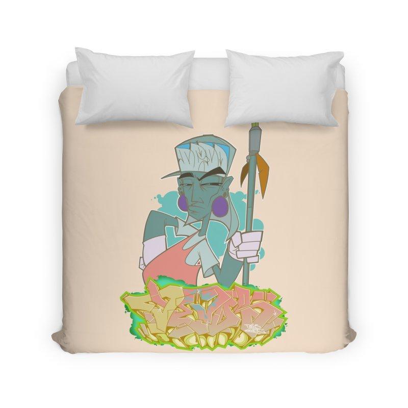 Bboy Azteca Home Duvet by Dedos tees