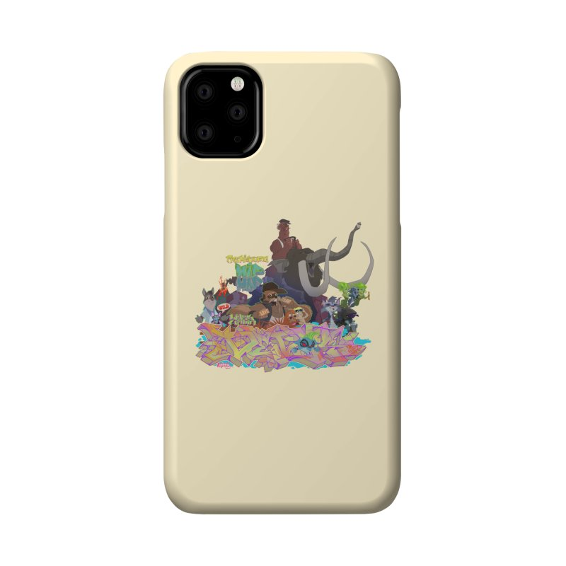 Prehistoric hip Hop Accessories Phone Case by Dedos tees