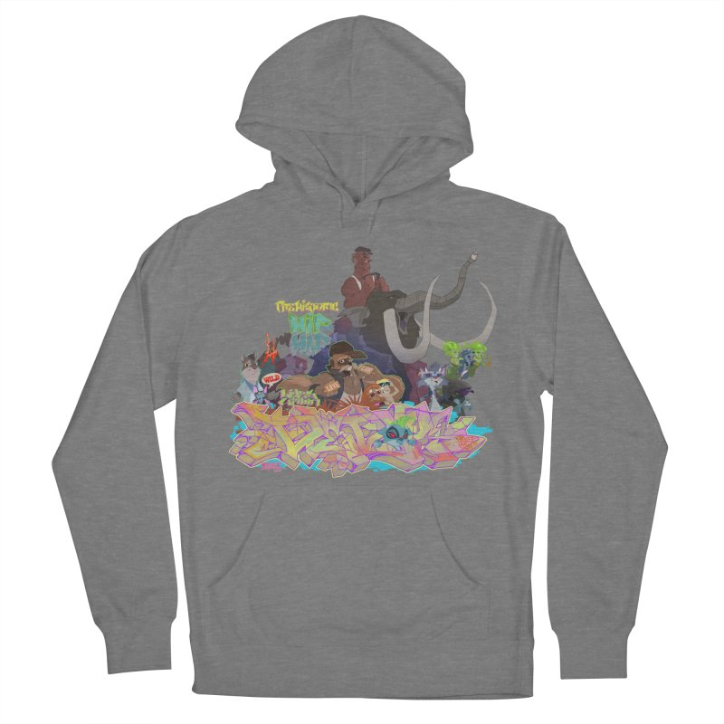 Prehistoric hip Hop Men's French Terry Pullover Hoody by Dedos tees