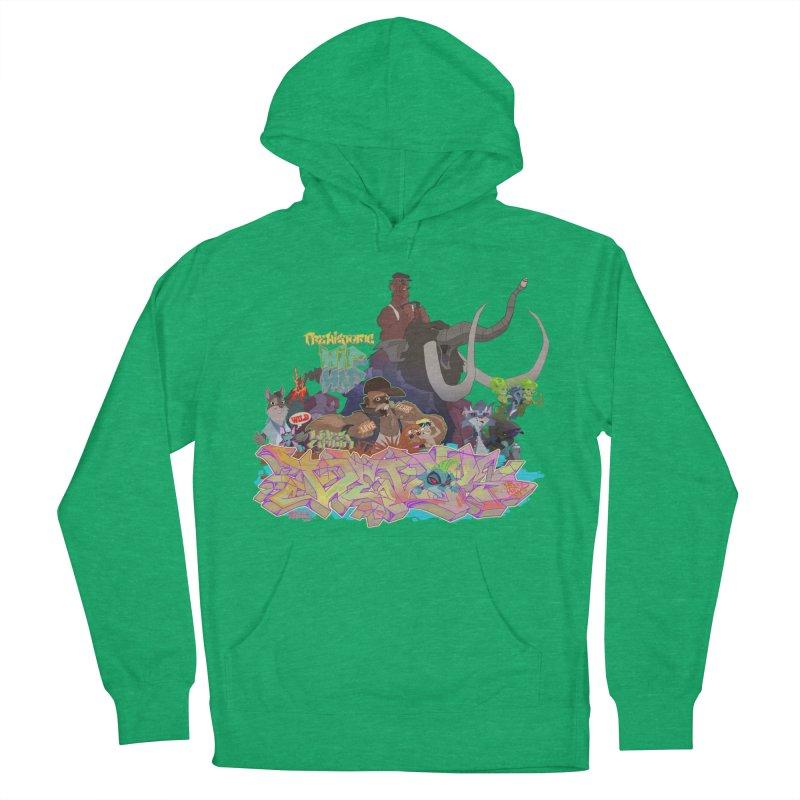 Prehistoric hip Hop Men's Pullover Hoody by Dedos tees