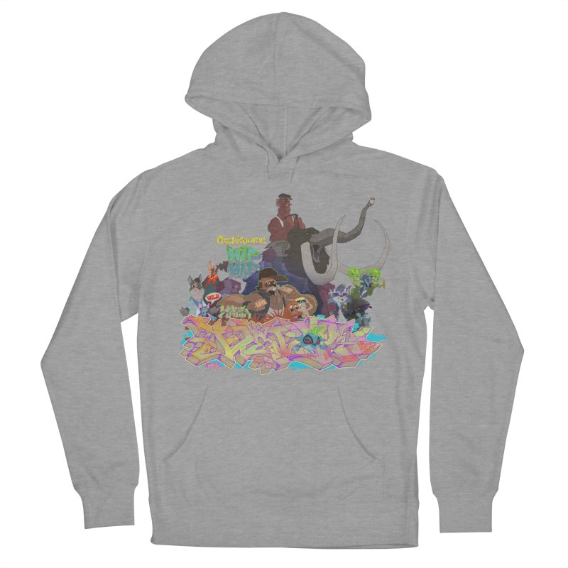Prehistoric hip Hop Men's Pullover Hoody by Dedos tees