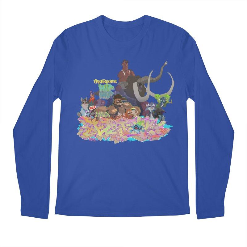 Prehistoric hip Hop Men's Longsleeve T-Shirt by Dedos tees