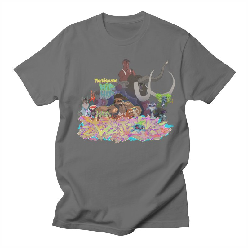 Prehistoric hip Hop Men's Regular T-Shirt by Dedos tees