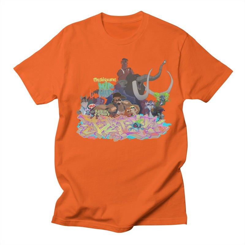 Prehistoric hip Hop Women's Regular Unisex T-Shirt by Dedos tees