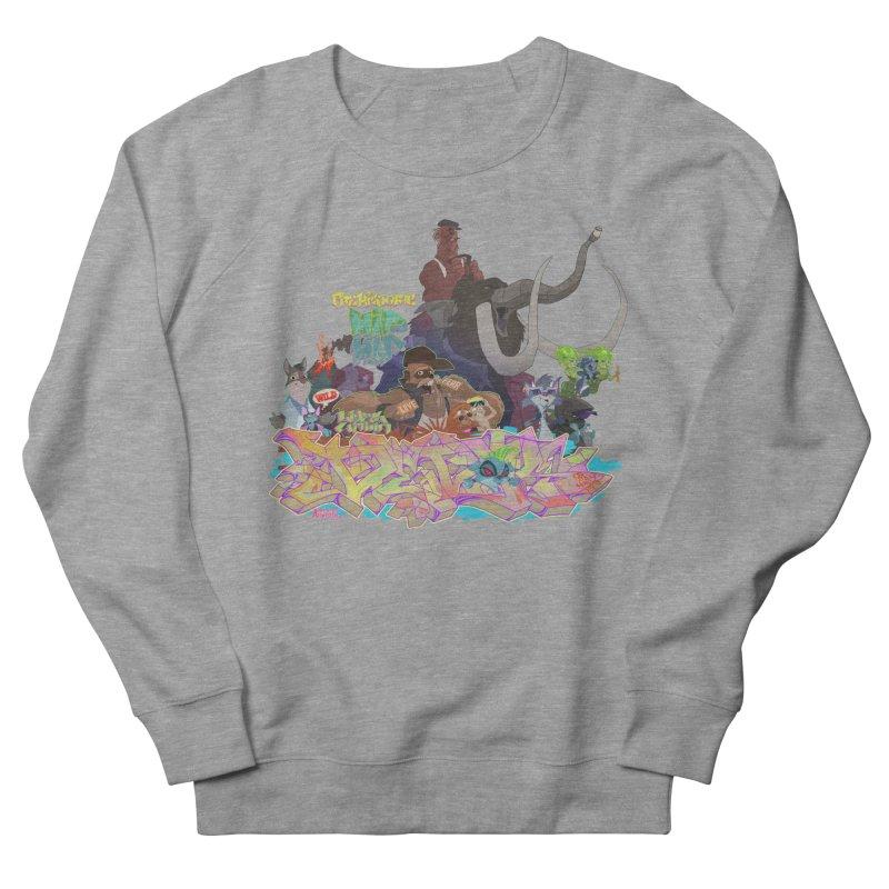 Prehistoric hip Hop Women's Sweatshirt by Dedos tees