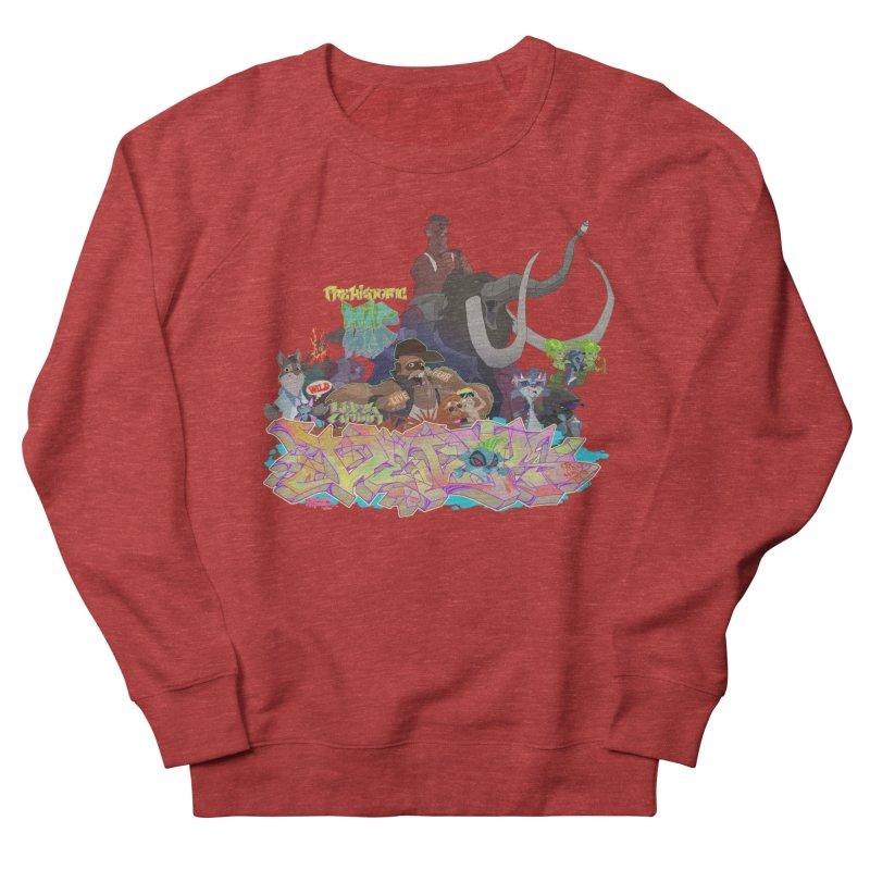 Prehistoric hip Hop Women's French Terry Sweatshirt by Dedos tees