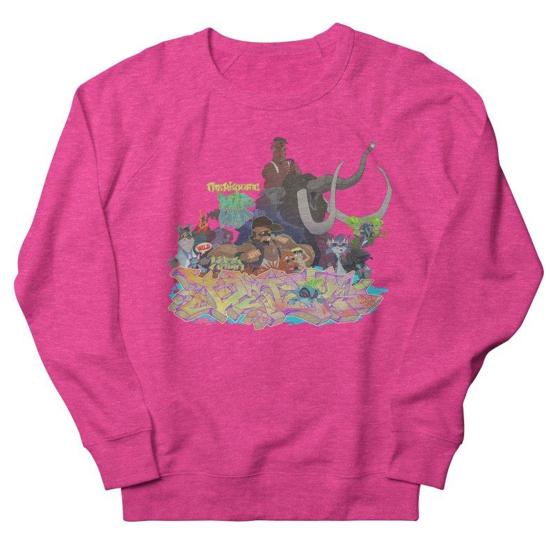 Prehistoric hip Hop Men's French Terry Sweatshirt by Dedos tees