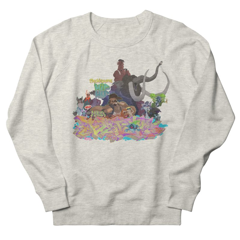 Prehistoric hip Hop Men's French Terry Sweatshirt by Dedos tees
