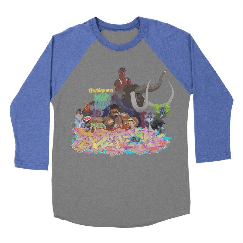 Prehistoric hip Hop Women's Baseball Triblend Longsleeve T-Shirt by Dedos tees