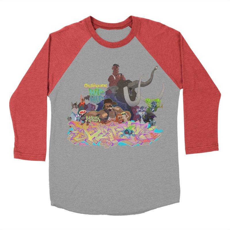 Prehistoric hip Hop Men's Baseball Triblend Longsleeve T-Shirt by Dedos tees