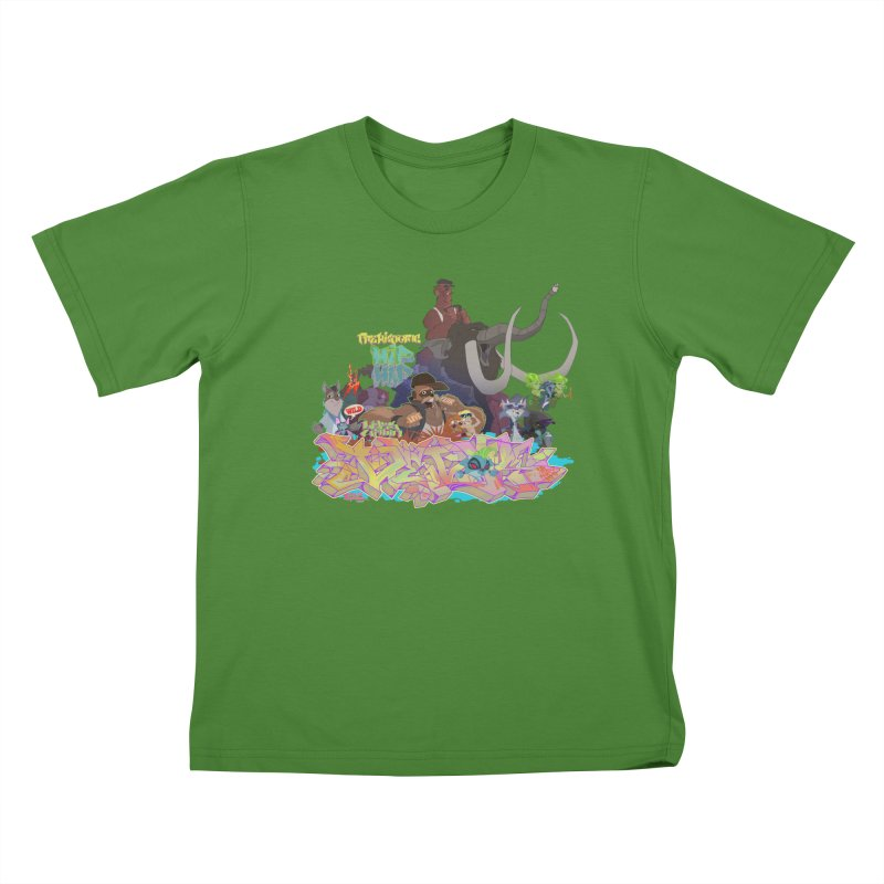 Prehistoric hip Hop   by Dedos tees