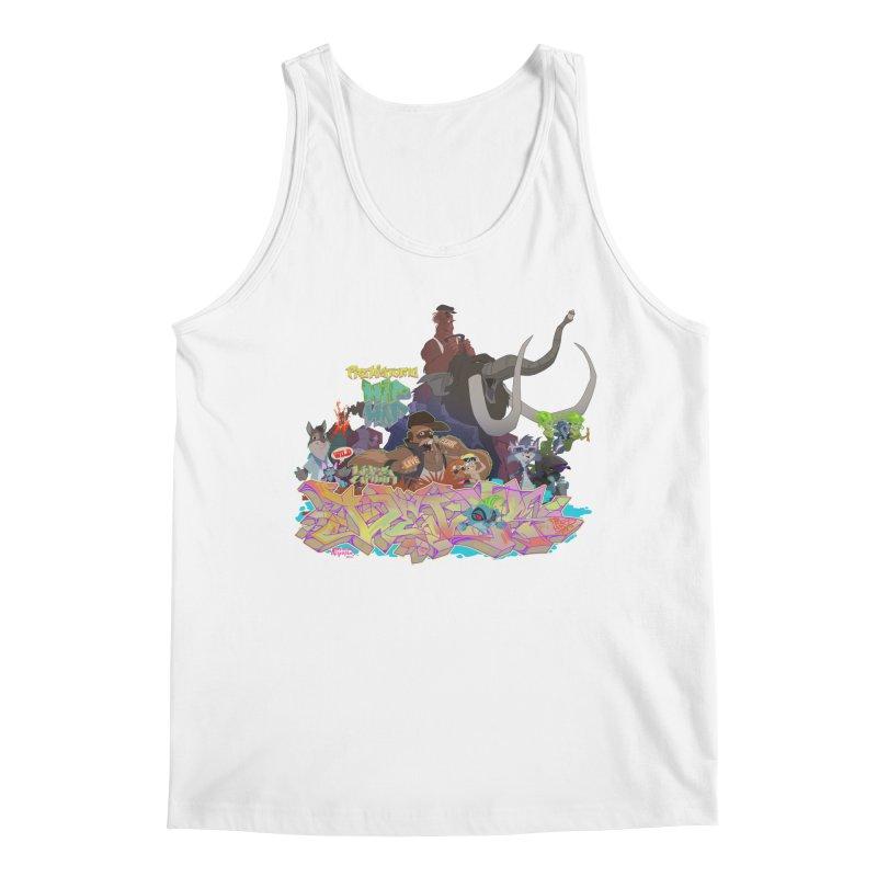 Prehistoric hip Hop Men's Regular Tank by Dedos tees