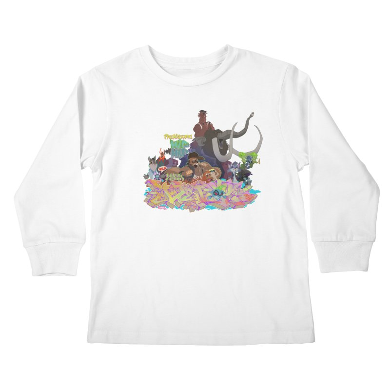 Prehistoric hip Hop   by Dedos tees