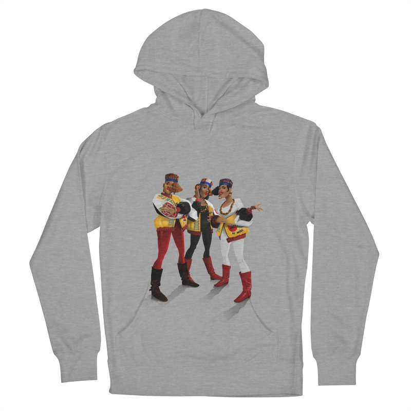 Salt n Pepa Women's French Terry Pullover Hoody by Dedos tees