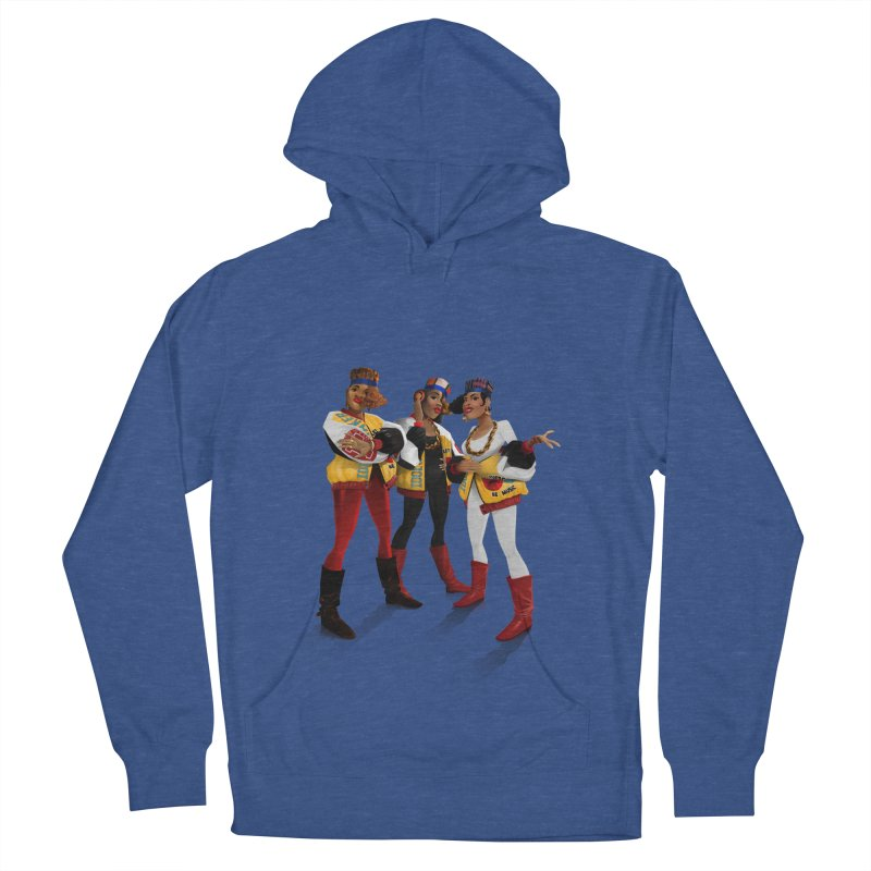 Salt n Pepa Men's French Terry Pullover Hoody by Dedos tees