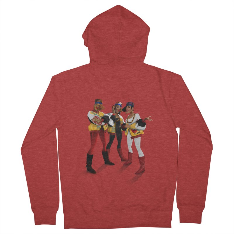 Salt n Pepa Women's French Terry Zip-Up Hoody by Dedos tees