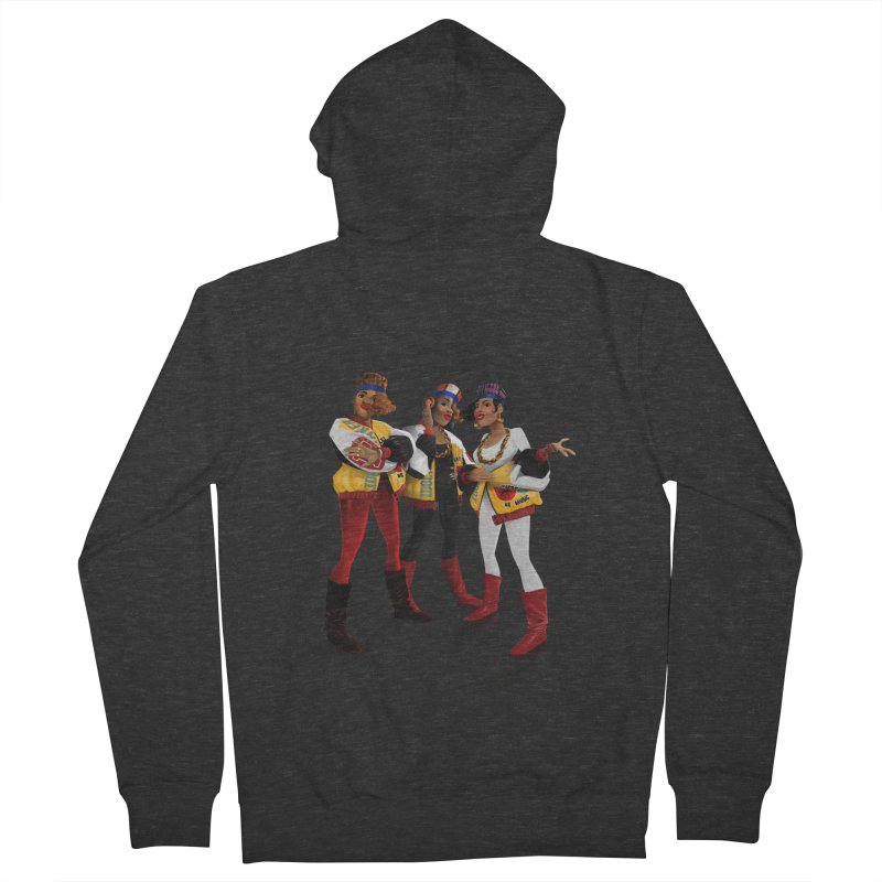 Salt n Pepa Men's French Terry Zip-Up Hoody by Dedos tees