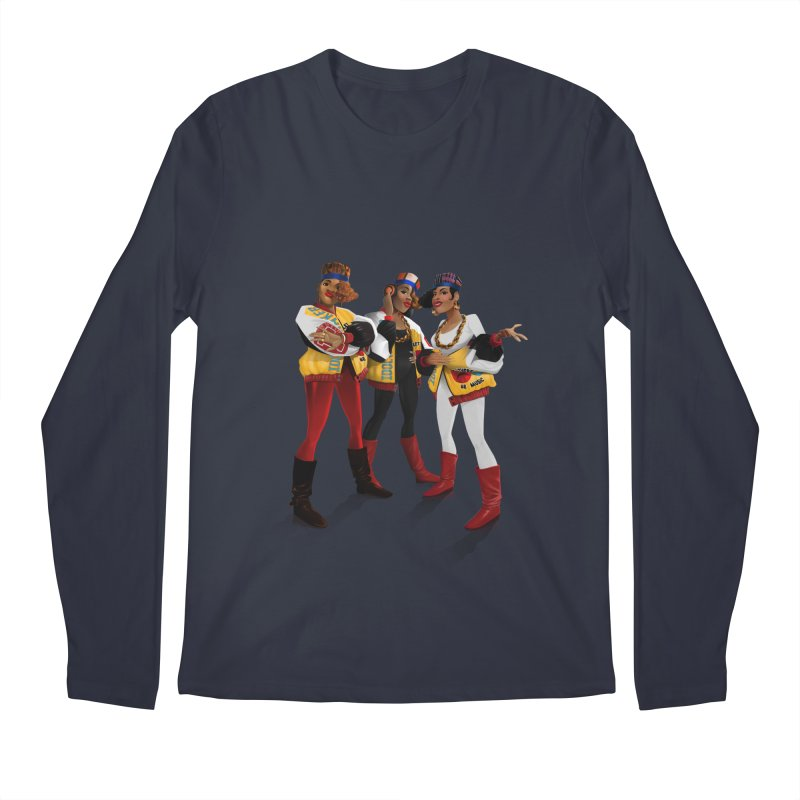Salt n Pepa Men's Longsleeve T-Shirt by Dedos tees