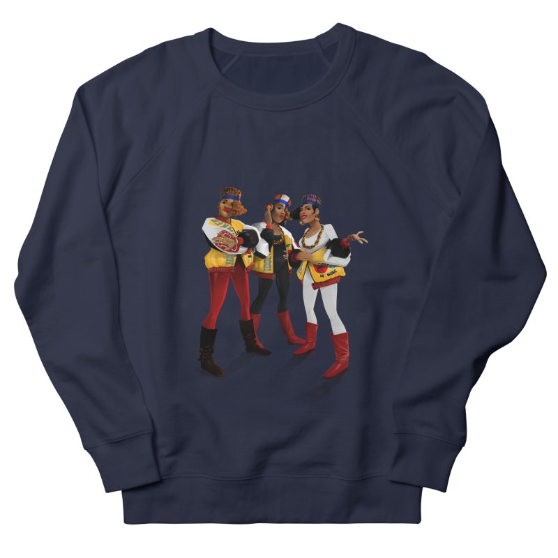 Salt n Pepa Women's French Terry Sweatshirt by Dedos tees