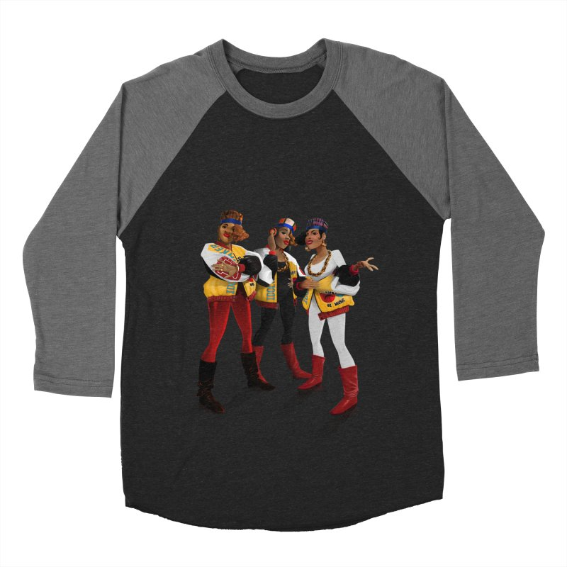 Salt n Pepa Women's Baseball Triblend Longsleeve T-Shirt by Dedos tees