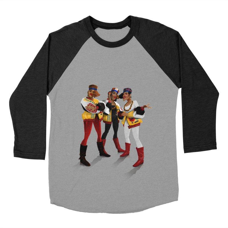 Salt n Pepa Women's Baseball Triblend Longsleeve T-Shirt by Dedos tees