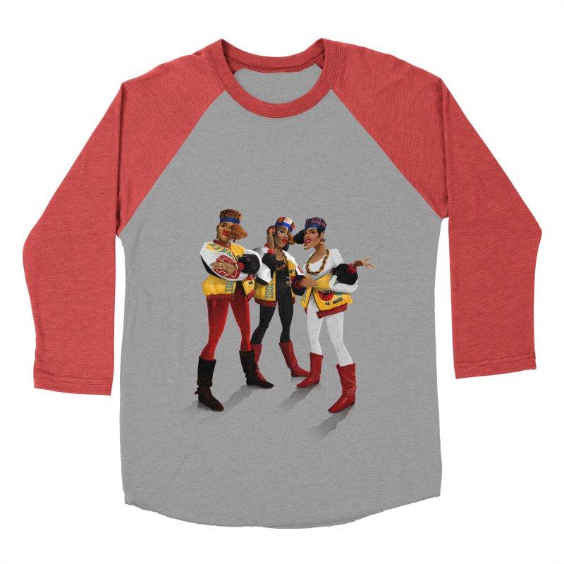 Salt n Pepa Men's Baseball Triblend Longsleeve T-Shirt by Dedos tees