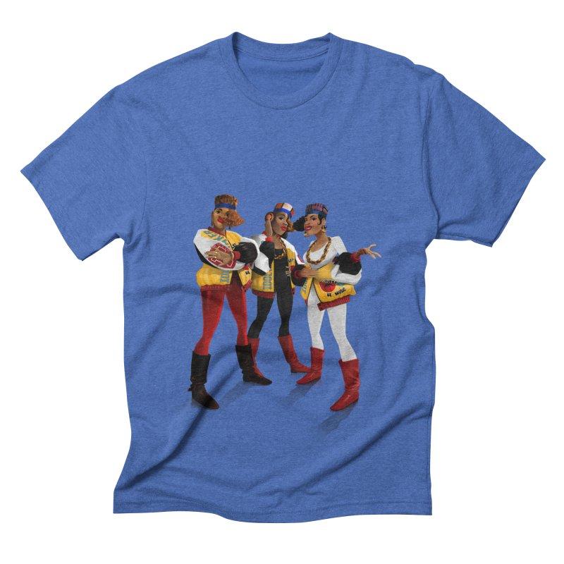 Salt n Pepa Men's Triblend T-shirt by Dedos tees
