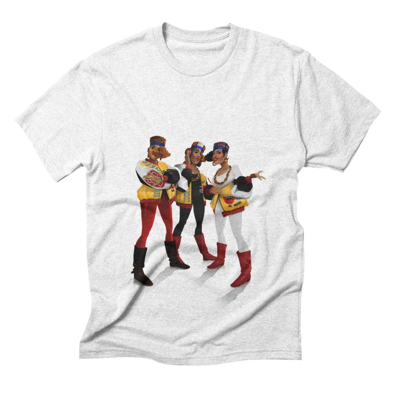Salt n Pepa Men's Triblend T-shirt by Dedos tees