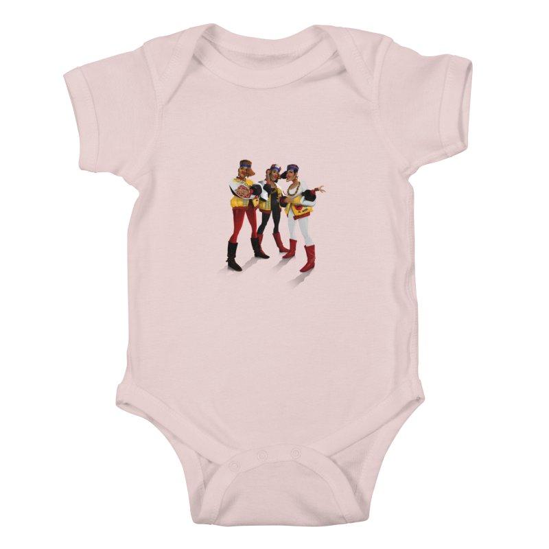 Salt n Pepa Kids Baby Bodysuit by Dedos tees
