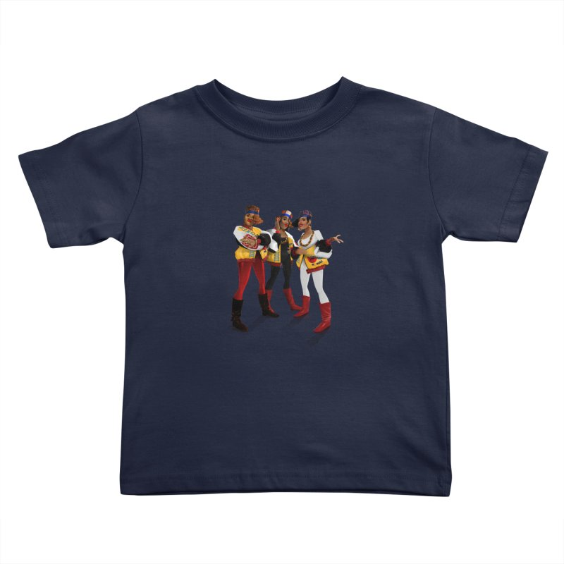 Salt n Pepa Kids Toddler T-Shirt by Dedos tees