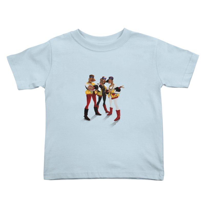 Salt n Pepa Kids Toddler T-Shirt by Dedos tees