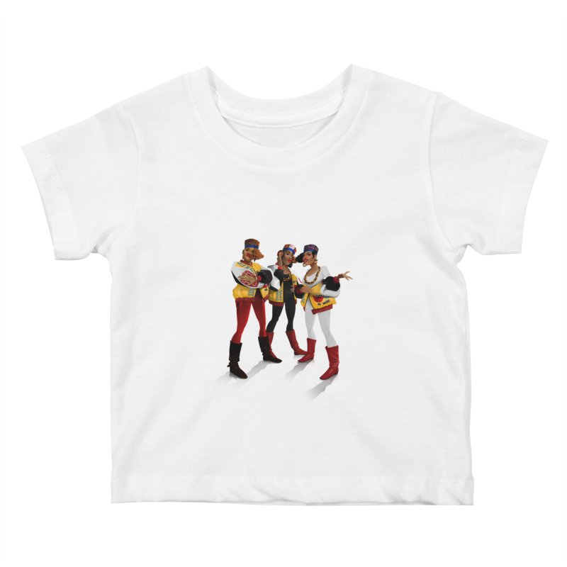 Salt n Pepa Kids Baby T-Shirt by Dedos tees