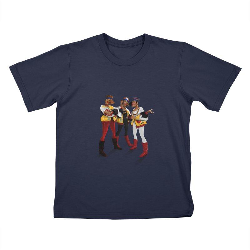 Salt n Pepa Kids T-Shirt by Dedos tees