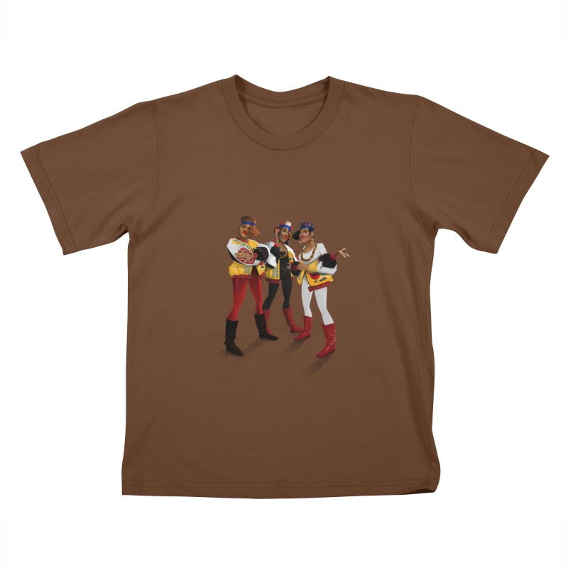 Salt n Pepa Kids T-Shirt by Dedos tees