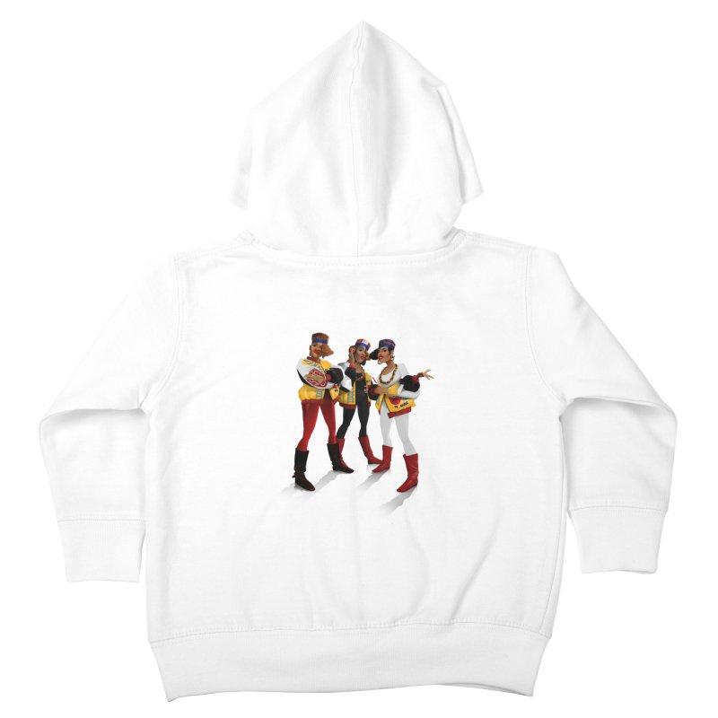 Salt n Pepa Kids Toddler Zip-Up Hoody by Dedos tees