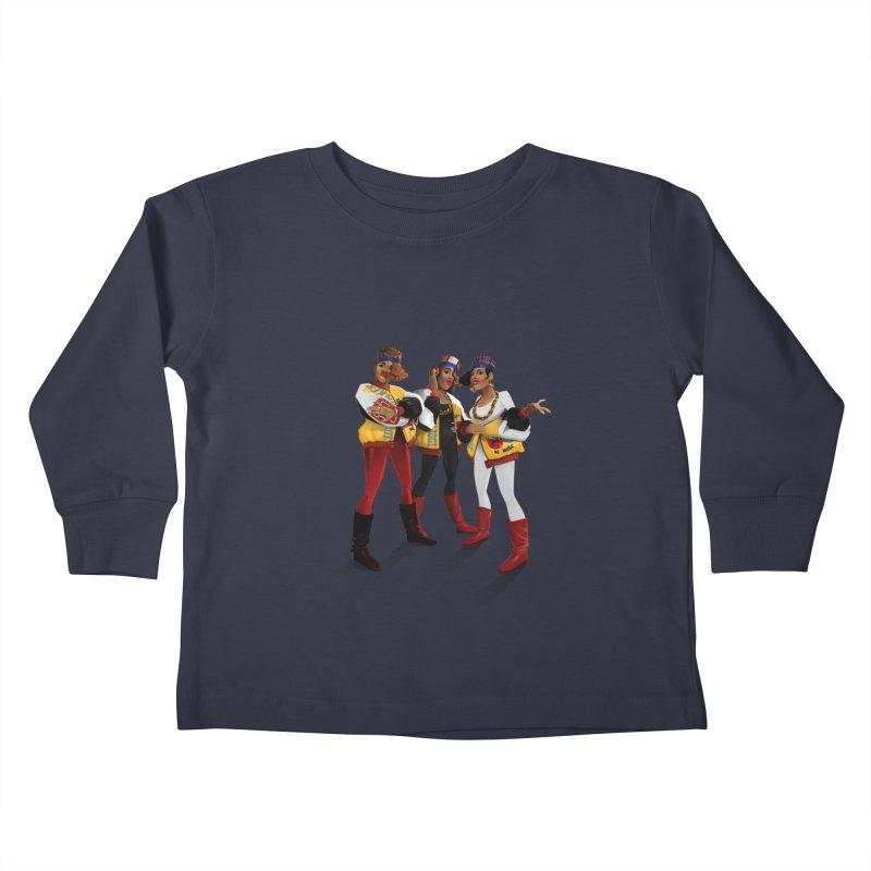 Salt n Pepa Kids Toddler Longsleeve T-Shirt by Dedos tees