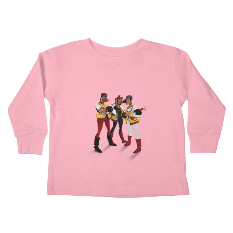 Salt n Pepa Kids Toddler Longsleeve T-Shirt by Dedos tees