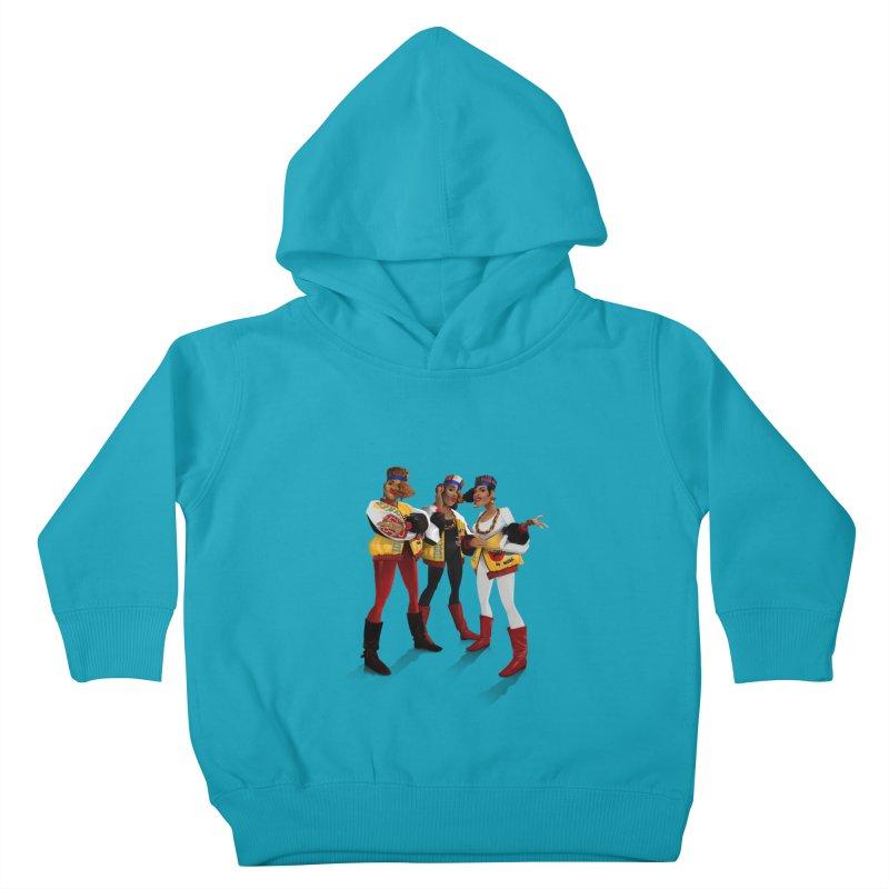 Salt n Pepa Kids Toddler Pullover Hoody by Dedos tees