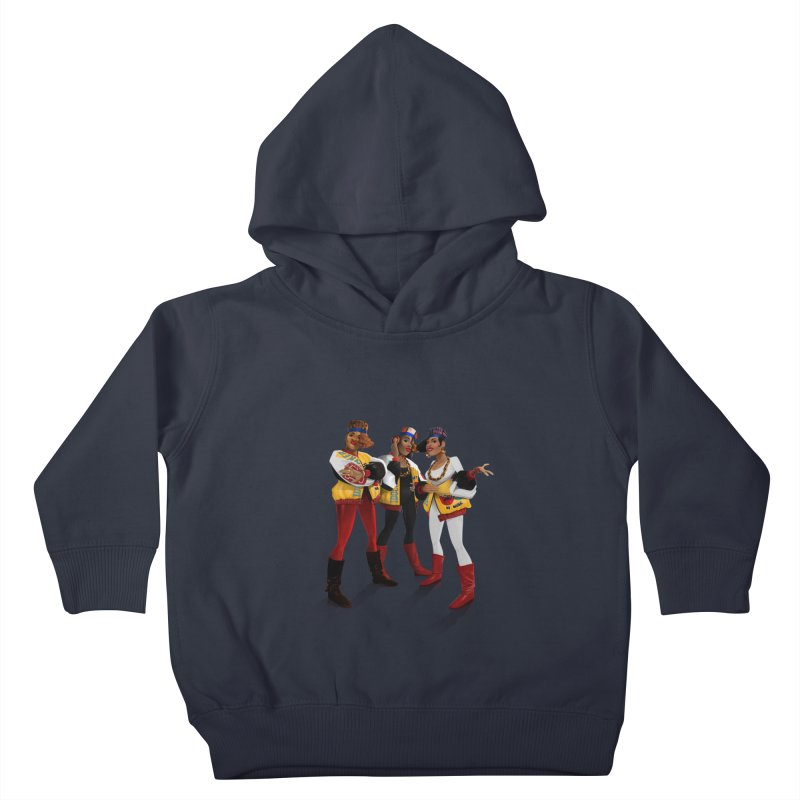 Salt n Pepa Kids Toddler Pullover Hoody by Dedos tees
