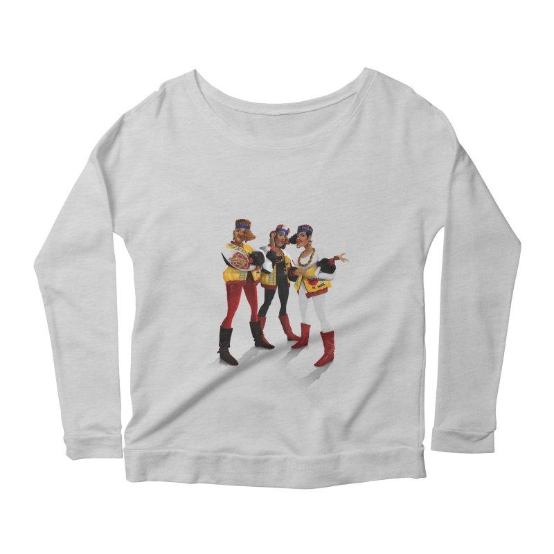 Salt n Pepa Women's Scoop Neck Longsleeve T-Shirt by Dedos tees